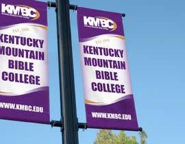 #71 for Design a Lightpole Banner for a College by alomgirdesigner