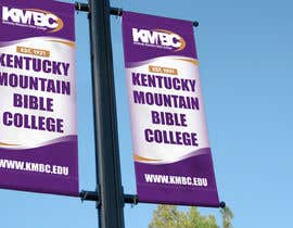 #84 for Design a Lightpole Banner for a College by alomgirdesigner
