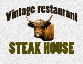#552 for steak house vintage restaurant name by sabitribos