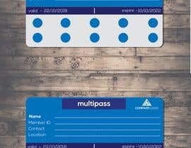 #8 for Design and Print a 1) Loyalty Pass (Membership Pass) and 2) Multi Pass for kids Indoor Playground Facility by mmasumbillah57