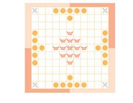 #1 for Design a board for a Viking board game called Hnefatafl by Yying