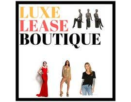 """#14 for My New Logo For My Clothing Business, it will also be the main page image so needs to be eye catching but simple. My business is called """"Luxe Lease Boutique"""" It is a clothing boutique,  For luxury designer dresses,  Favorite colors: Gold, Black & Red by Ashilanur"""