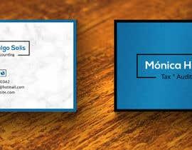 Nro 6 kilpailuun Design some Business Cards for a tax counter käyttäjältä tamamallick