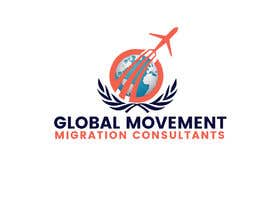 #54 for Global Movement Migration Consultants  Logo creation by Sojibhossain3002