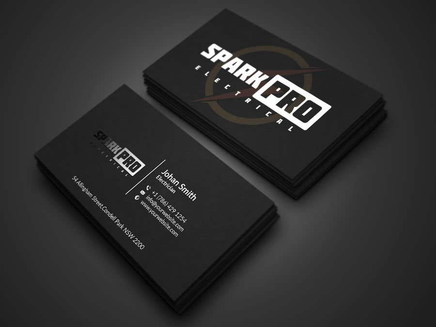 Entry 201 by tmshovon for design a business card for an electrical contest entry 201 for design a business card for an electrical contractor colourmoves