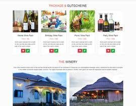 #3 für Webseitendesign Weinbau , Website of a winery von vitprofessional