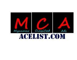 #63 untuk company logo icon with acelist.com and Myanmar classifieds ads text oleh dbratnam123