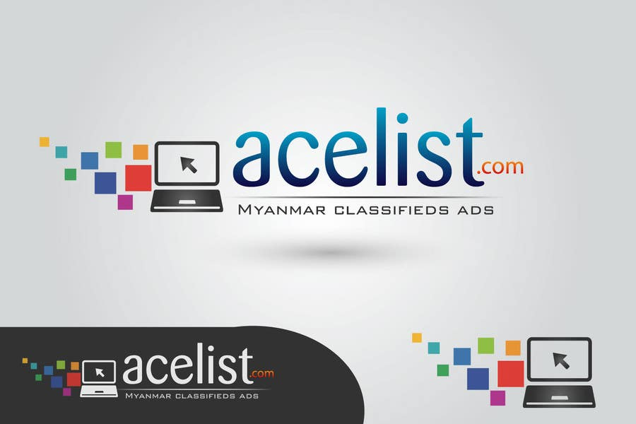 Bài tham dự cuộc thi #                                        73                                      cho                                         company logo icon with acelist.com and Myanmar classifieds ads text
