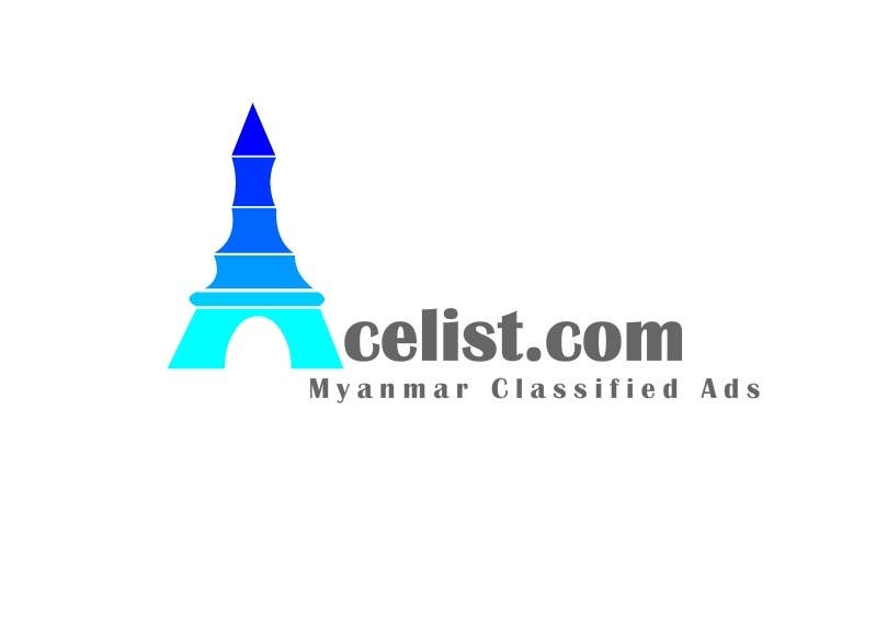 Bài tham dự cuộc thi #                                        77                                      cho                                         company logo icon with acelist.com and Myanmar classifieds ads text