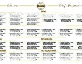 #13 for Experienced designer for American Restaurant Menu by Hamddesigns