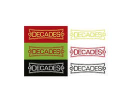 #29 for Design a Logo | Recreate (decades) by carluchoo