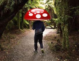 #6 for Put a mushroom on my friend's head by dhiaakermi