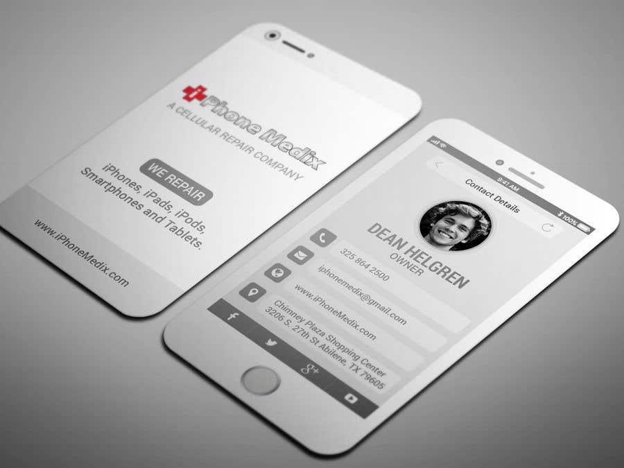 Konkurrenceindlæg #52 for BUSINESS CARD DESIGN/CELLPHONE & TABLET REPAIR -- 2