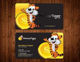 #139 for design business card for Money Tiger by aminur33