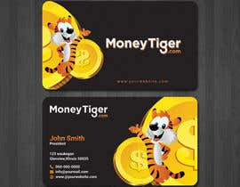 #145 for design business card for Money Tiger by shemulpaul