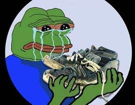 #23 for Draw a picture of sad pepe  with a shoe in hands by d3stin