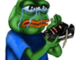 #18 for Draw a picture of sad pepe  with a shoe in hands by RogueBulldog