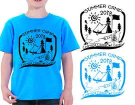 #28 for Design a T-Shirt for a Summer Camp by RibonEliass