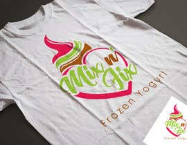 #71 for Logo: Mix n' Fix Yo or Mix n' Fix (Frozen Yogurt) brand. by fakefukra