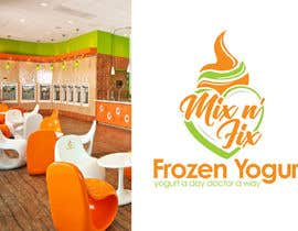 #108 for Logo: Mix n' Fix Yo or Mix n' Fix (Frozen Yogurt) brand. by fakefukra