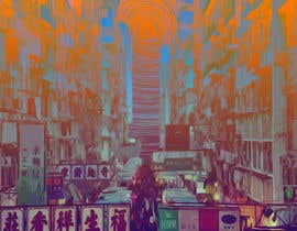 #5 cho Change a London photo to comics style illustration (and add a Hong Kong street market) bởi creativetools