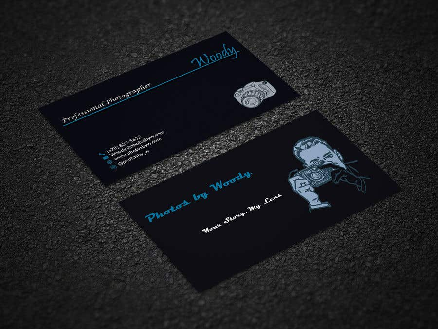 Entry #76 by shantarose for Photographer Business Card Design ...
