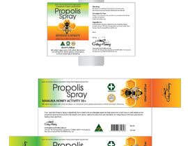 #31 para G'day honey propolis spray and Eucalyptus tooth paste package and label design por olakulikola