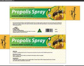 #23 para G'day honey propolis spray and Eucalyptus tooth paste package and label design por BlaBlaBD