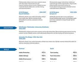 #2 cho I need a infographic cv/resume. bởi Decomex