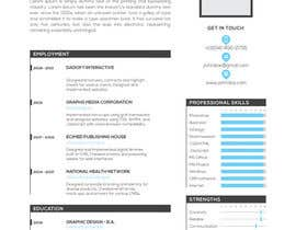#25 cho I need a infographic cv/resume. bởi omerozdemir