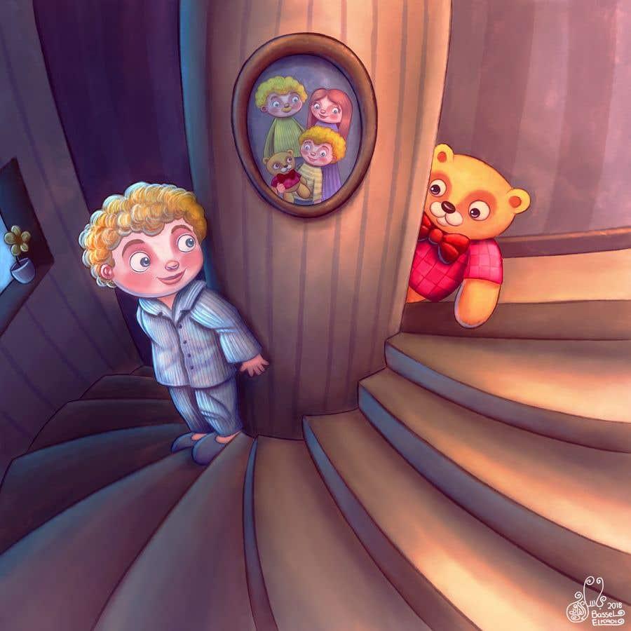 Bài tham dự cuộc thi #                                        2                                      cho                                         Illustrator for Children's book project