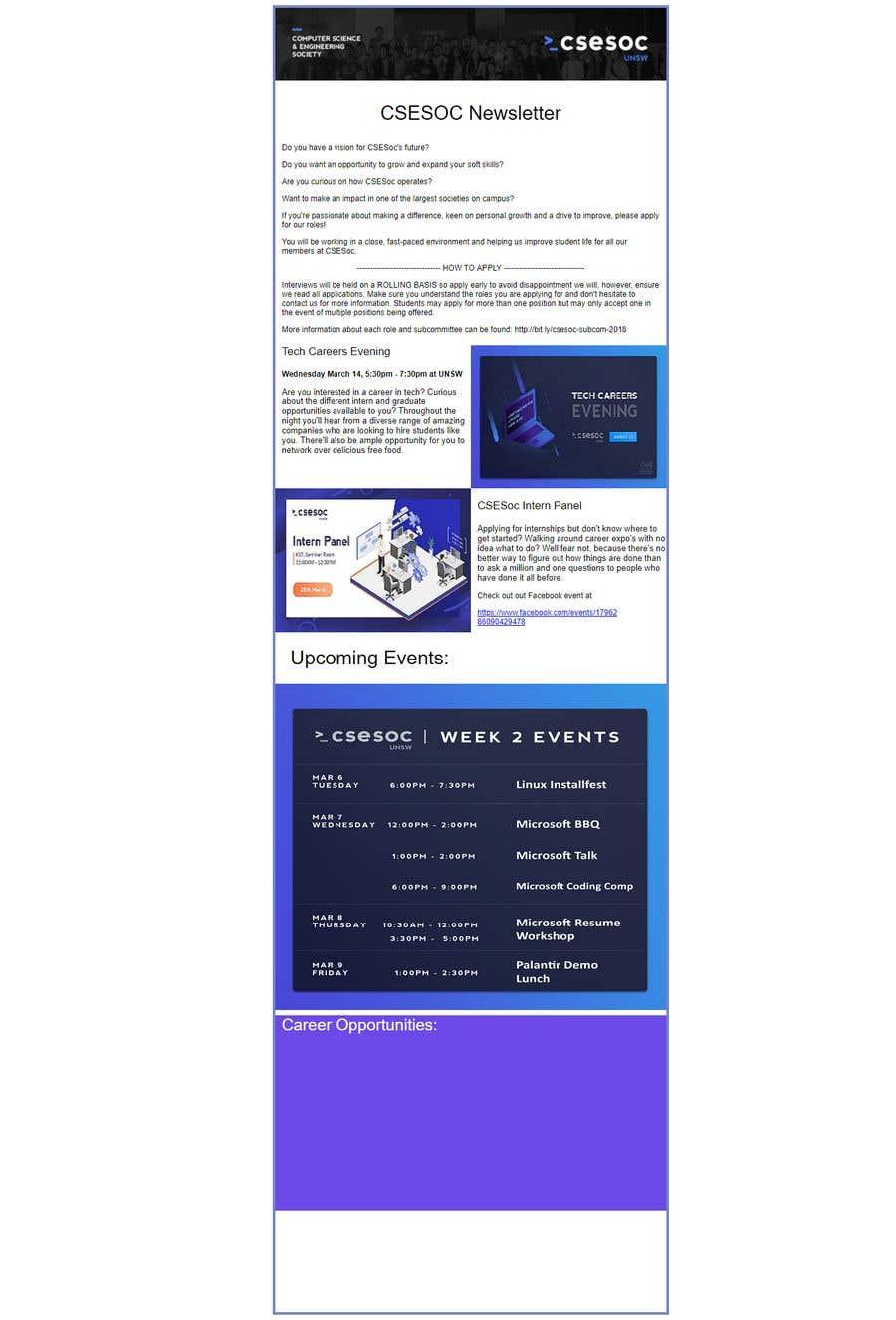 Конкурсная заявка №15 для Code up an HTML Email Template