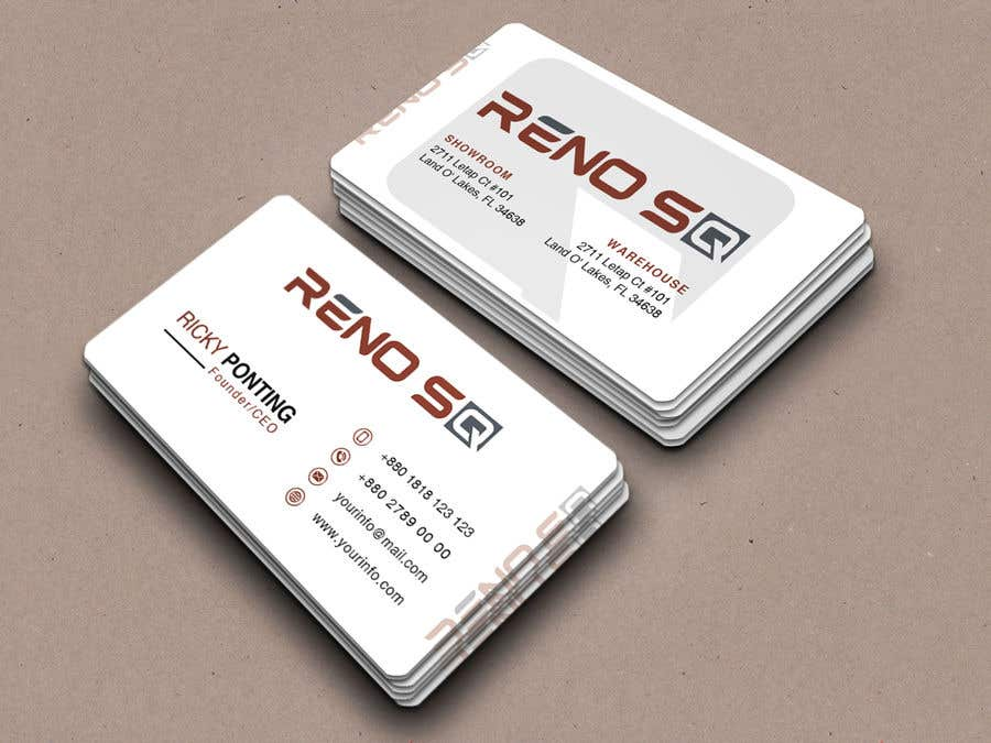 Entry 576 by noormonowar for design company business card freelancer business card reheart Images