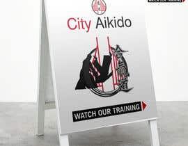 #38 cho Design a Sandwich Board Welcome Sign for an Aikido Dojo bởi EVINR