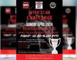 azgraphics939 tarafından Interclub Challenge flyer için no 14