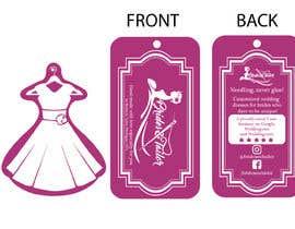 #9 para Designing a label and dress tag for my customized wedding dresses. por gabrielcarrasco1