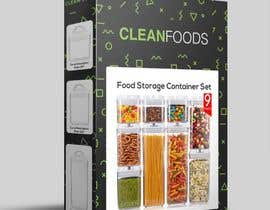 #33 for PACKAGING DESIGN for food storage container set - GUARANTEED/SEALED by alfonsoverlezza