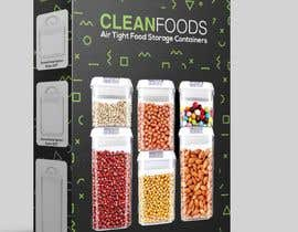 #34 for PACKAGING DESIGN for food storage container set - GUARANTEED/SEALED by alfonsoverlezza