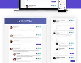 #16 for Design a web mockup for a comments page af sajidesigner