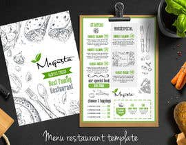 #21 para Modern design for a minimal menu/carte (Restaurant) por lookandfeel2016