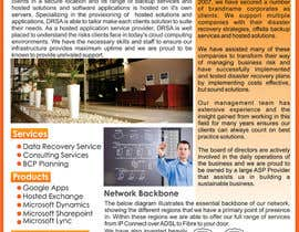 nº 2 pour Brochure Design for Disaster Recovery South Africa par Ubaidahmadmughal