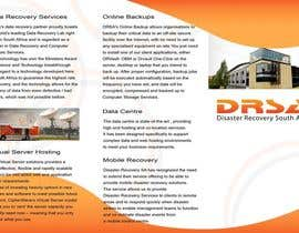 #8 untuk Brochure Design for Disaster Recovery South Africa oleh MagicProductions