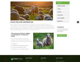 #17 pentru Build the website for the first food animal welfare compensation platform: foodoffset.org, simple but slick (without payment page) de către u2smile85