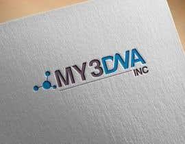 Nro 21 kilpailuun Design a Logo for My3Dna Inc käyttäjältä gamav99