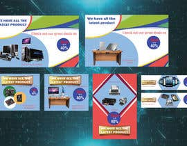 #19 for I need 7 banners designed for Computers & Accessories website by azizsomaje