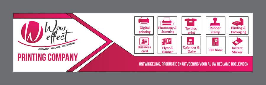 Konkurrenceindlæg #15 for Create a banner for Printing Company