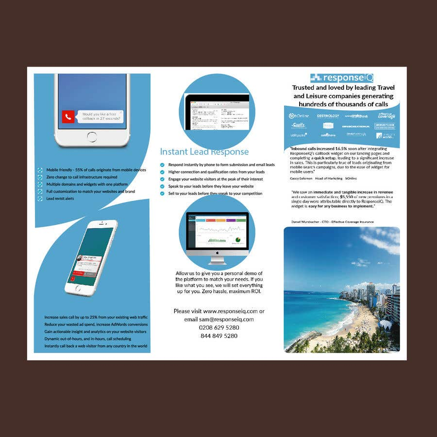 entry 64 by afnan060 for design an double sided a4 tri fold flyer