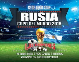 #2 cho Russia 2018 Worldcup - Restaurant Placemat bởi Ecku