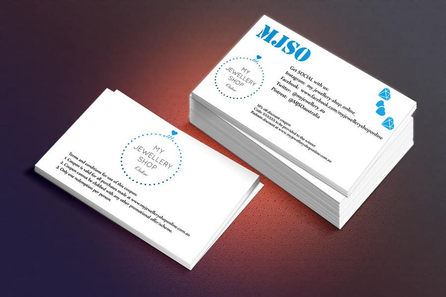 Entry #6 by robertarch for Design some Business Cards Size Discount ...