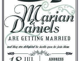 marianayepez tarafından Wedding Stationery Design, Vintage, Steampunk için no 3